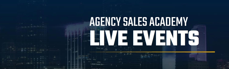 Agency Sales Academy website